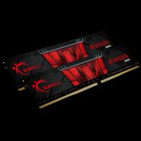 G.Skill Aegis 16 GB DDR4-3000 DIMM CL16 Dual Kit schwarz/rot (F4-3000C16D-16GISB)